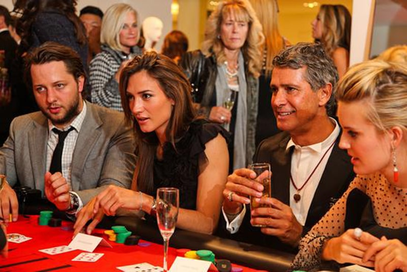 Nicky Hilton Host New Year S Eve Pure Nightclub Poker Tournament Live Casino